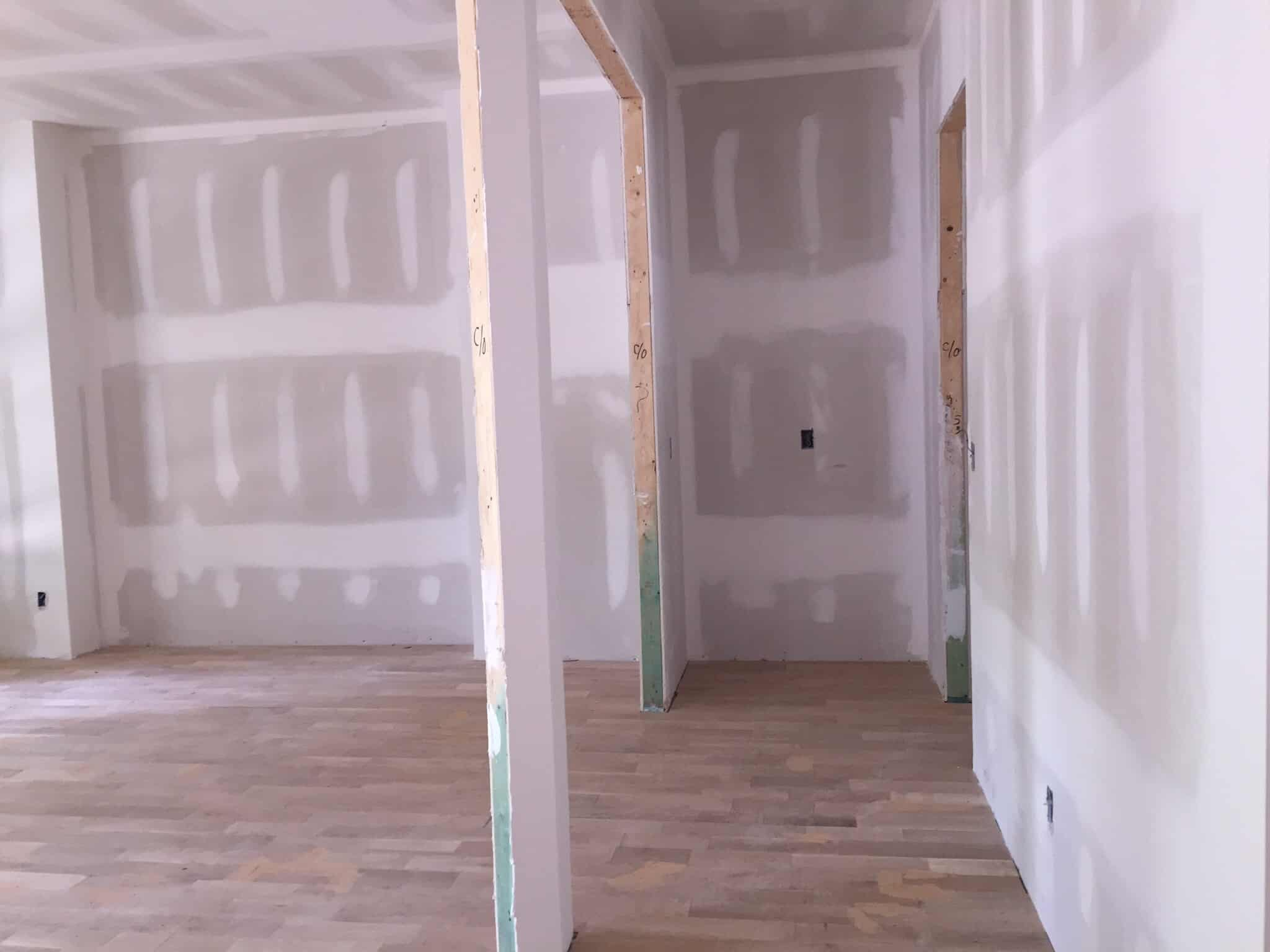 Construction Progress:  To Sheetrock and Beyond!