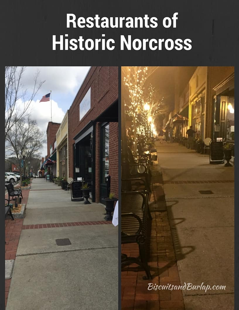 Restaurants of Historic Norcross