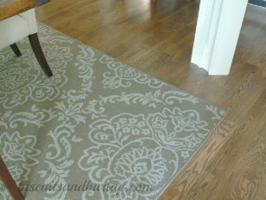 Southern Home Tour Dining Room Rug