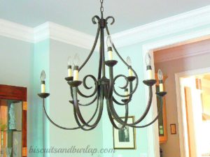 Southern Home Tour Dining Room Light Fixture Dover Chandelier
