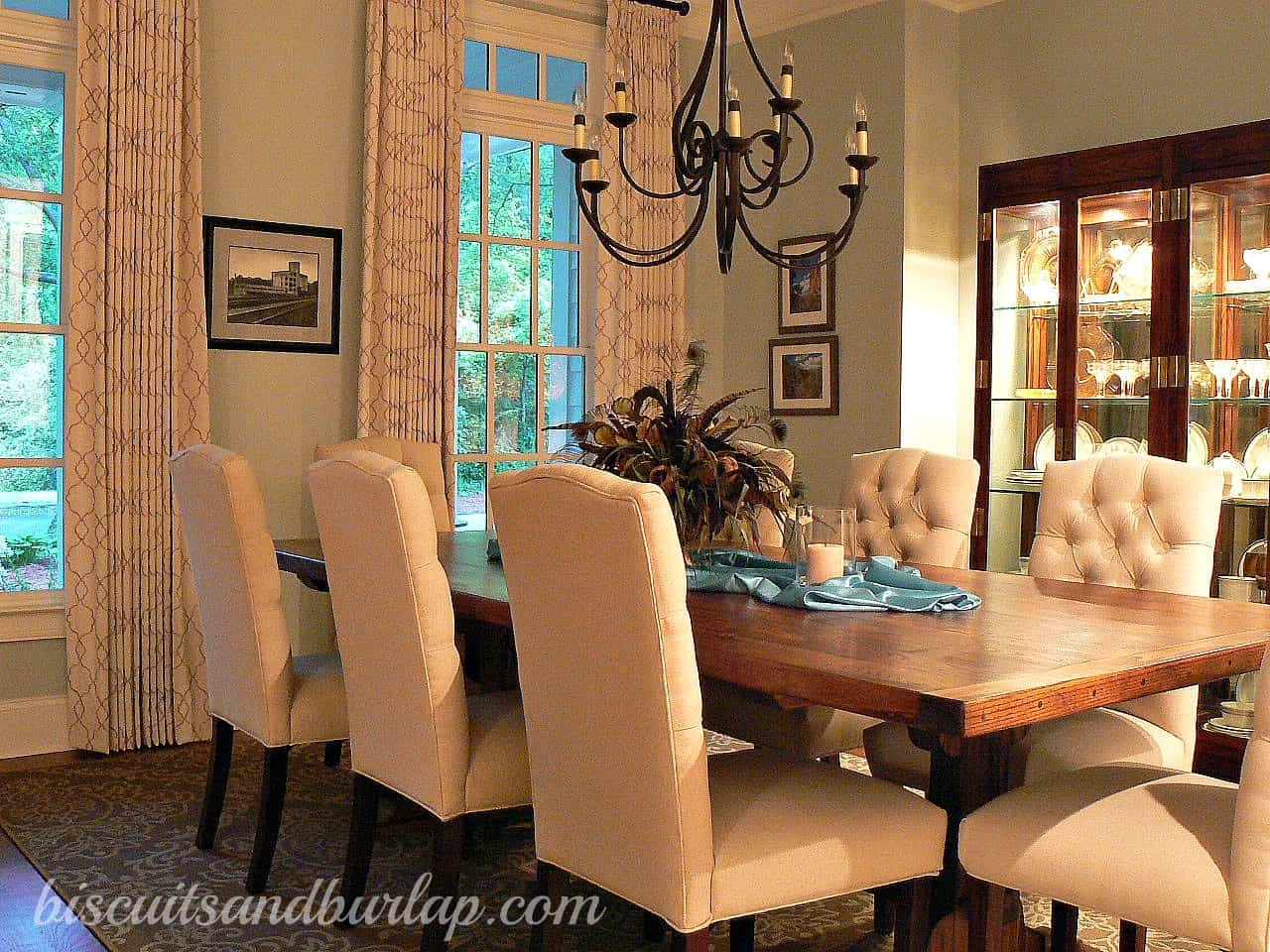 Pam's Home Tour – Dining Room & Kitchen