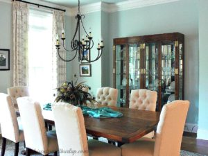 Southern Home Tour Dining Room in daytime
