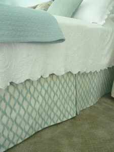 Custom DIY Bedskirt
