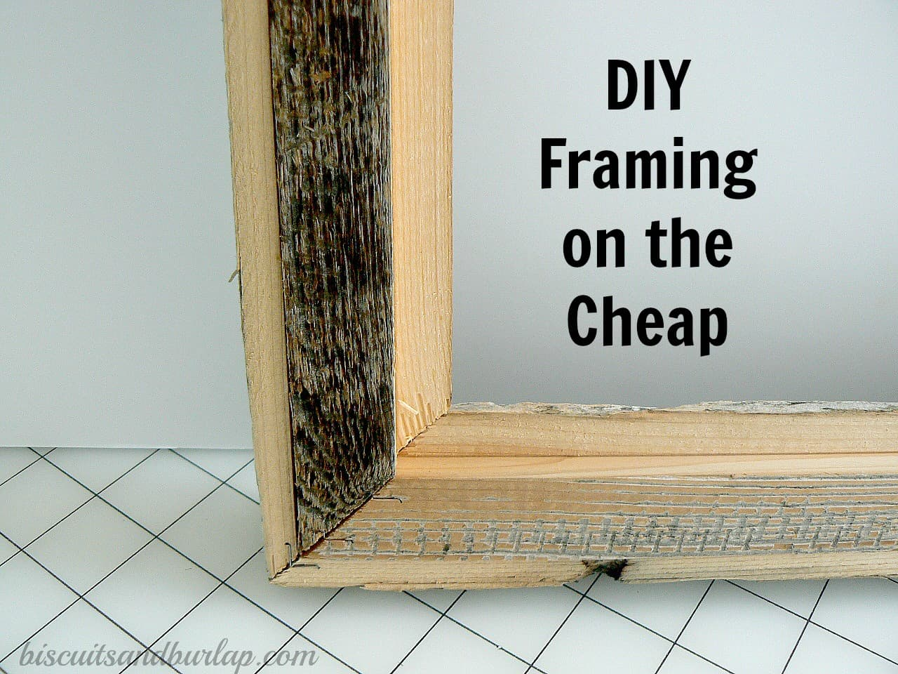 Diy Photo Framing On The Cheap