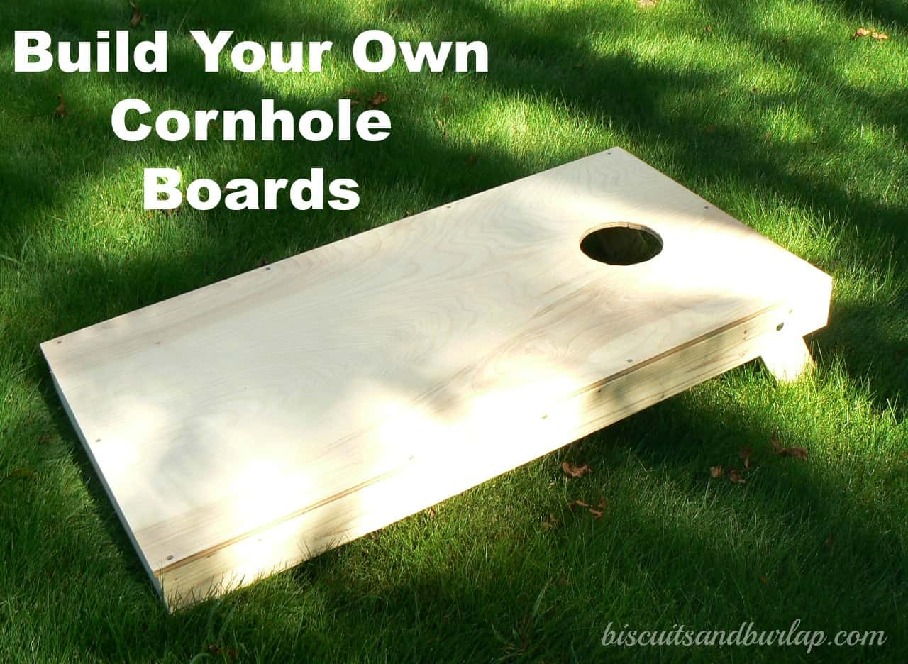 Cornhole Boards – Build Your Own