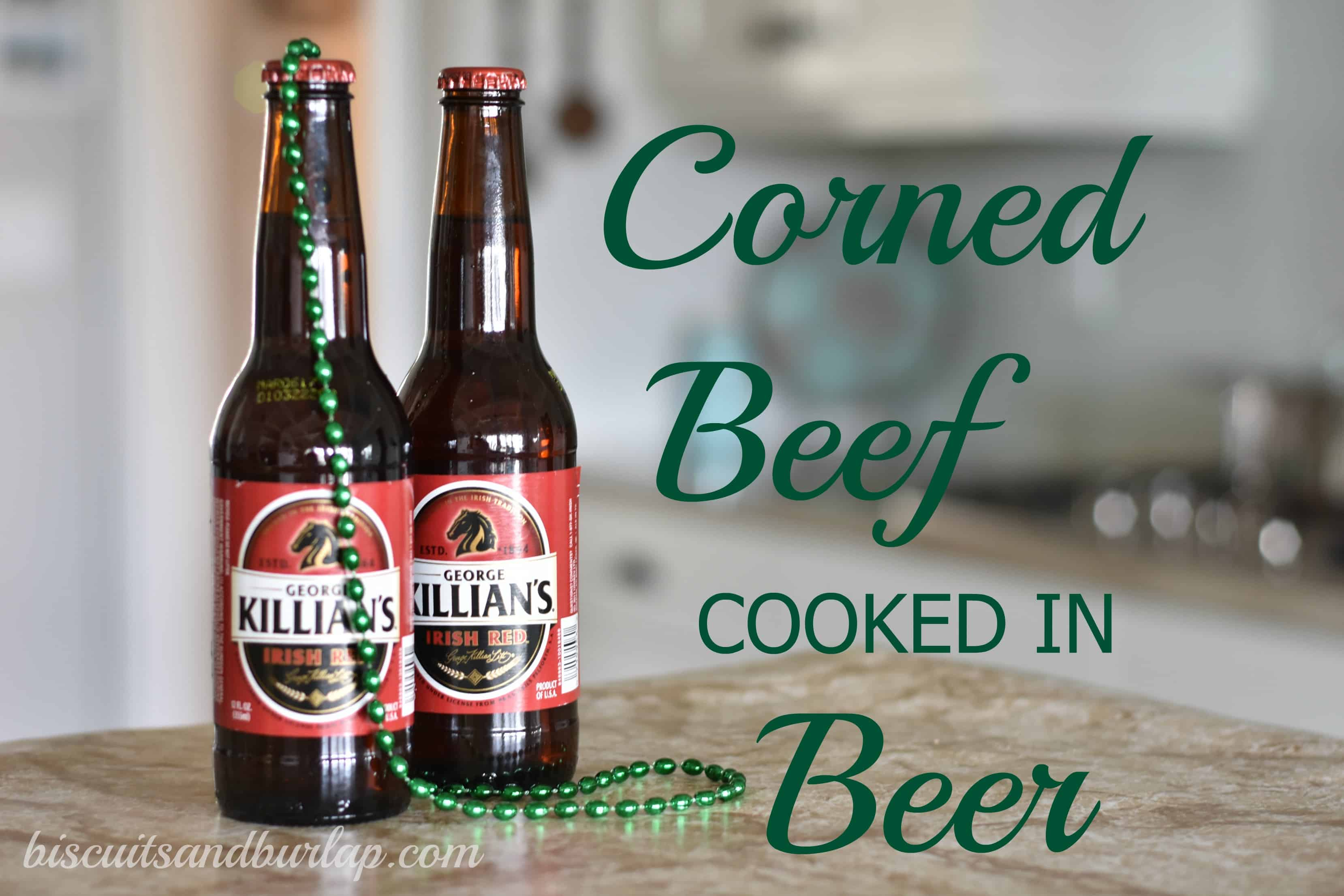 Corned Beef Cooked in Beer? You Bet!