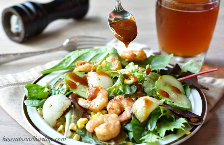 Barbecue Shrimp Salad 1a