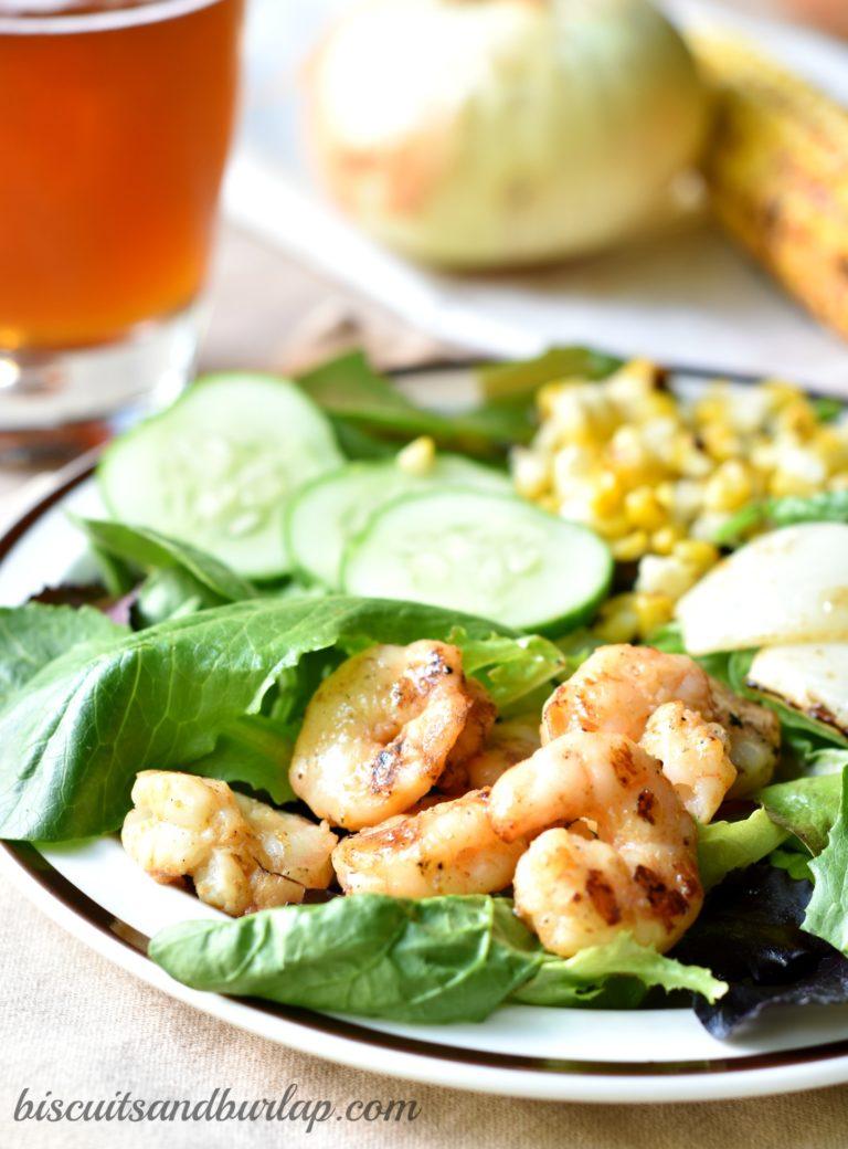 Barbecue Shrimp Salad 2a