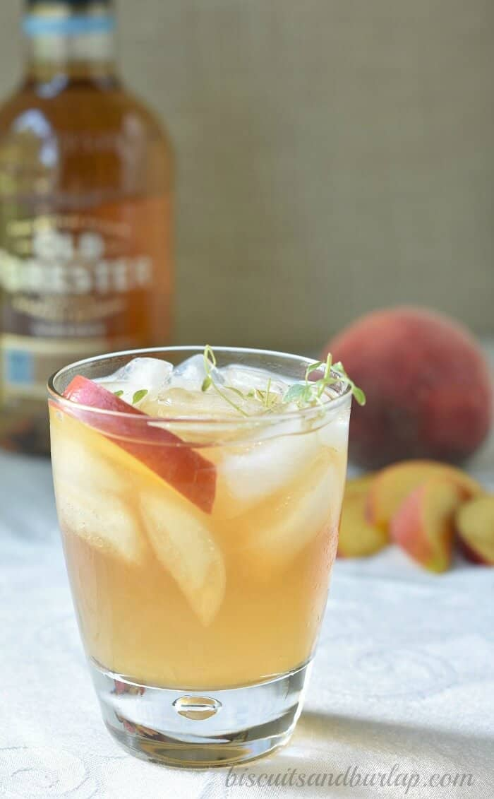 peach-bourbon