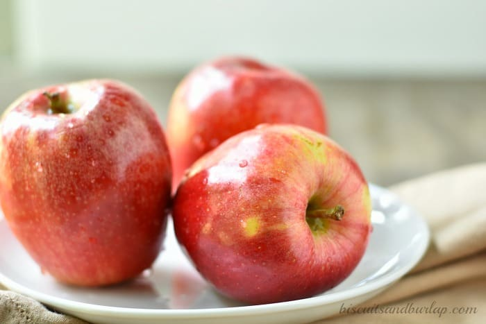 Use fresh apples for the best apple pie recipe ever