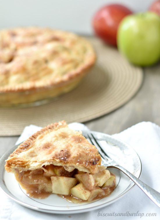 The world's best apple pie recipe