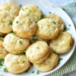 These mini biscuits are perfect for brunch or a party.