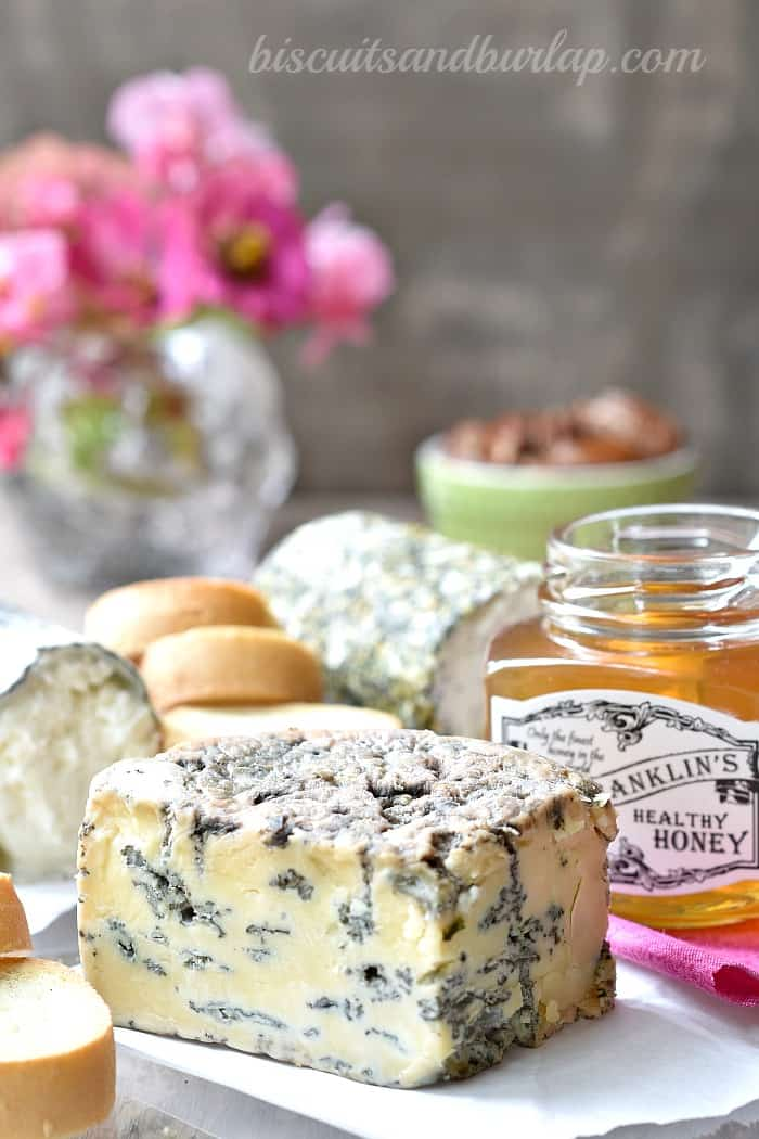 blue cheese on cheese board is a must!