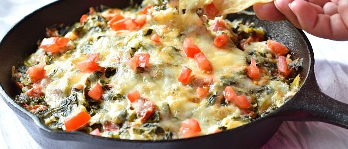 Collard Greens Dip is Cheesy Southern Goodness