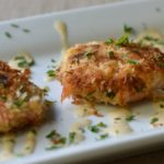 Crab Cakes with Cajun Cream Sauce are so easy