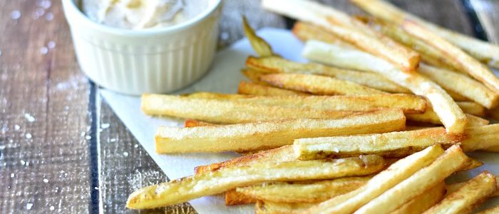 Homemade French Fries with Creole Aioli
