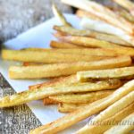 Homemade French Fries with Creole Aioli from BiscuitsandBurlap.com