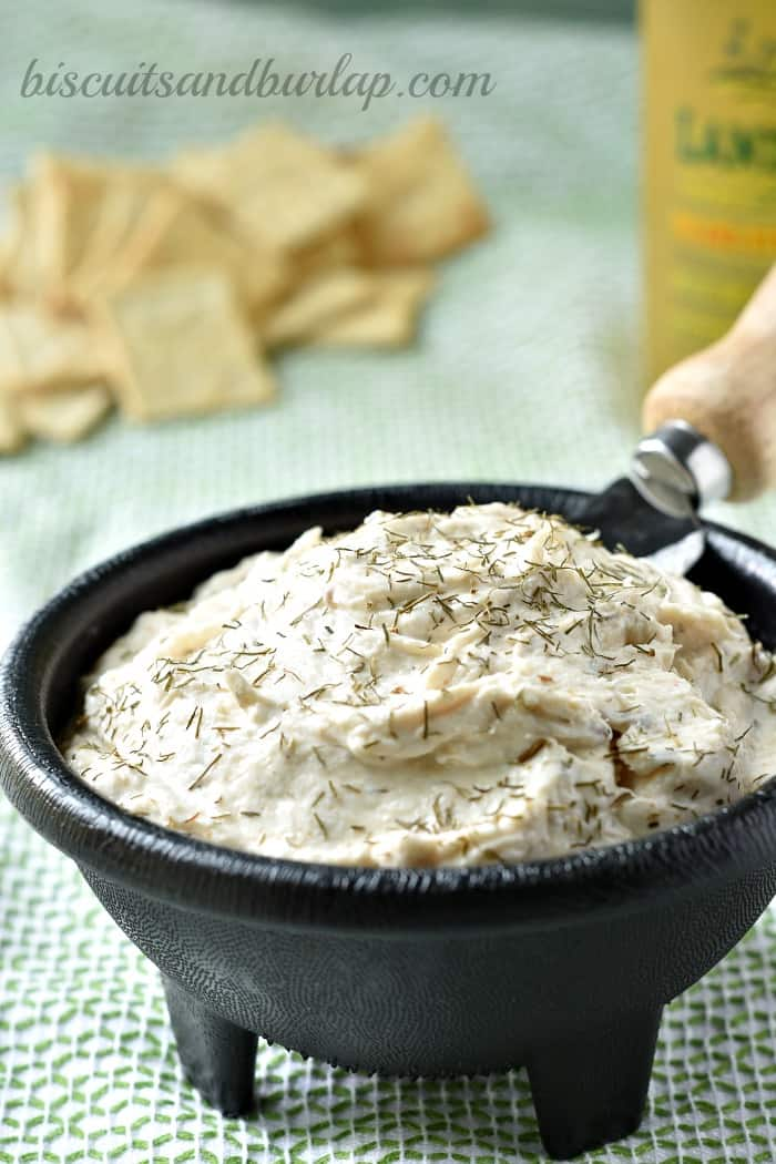 Smoked Fish Dip better than at your favorite beach bar from BiscuitsandBurlap.com