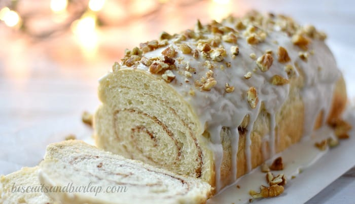 Cinnamon bread makes any morning special. From BiscuitsandBurlap.com