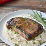 Gouda Grits with Cajun Spice are a versatile side dish from BiscuitsandBurlap.com