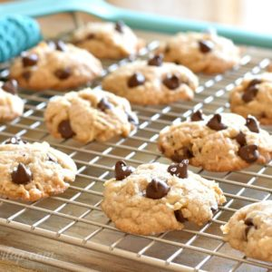 Cookies with Coconut and Chocolate Chips