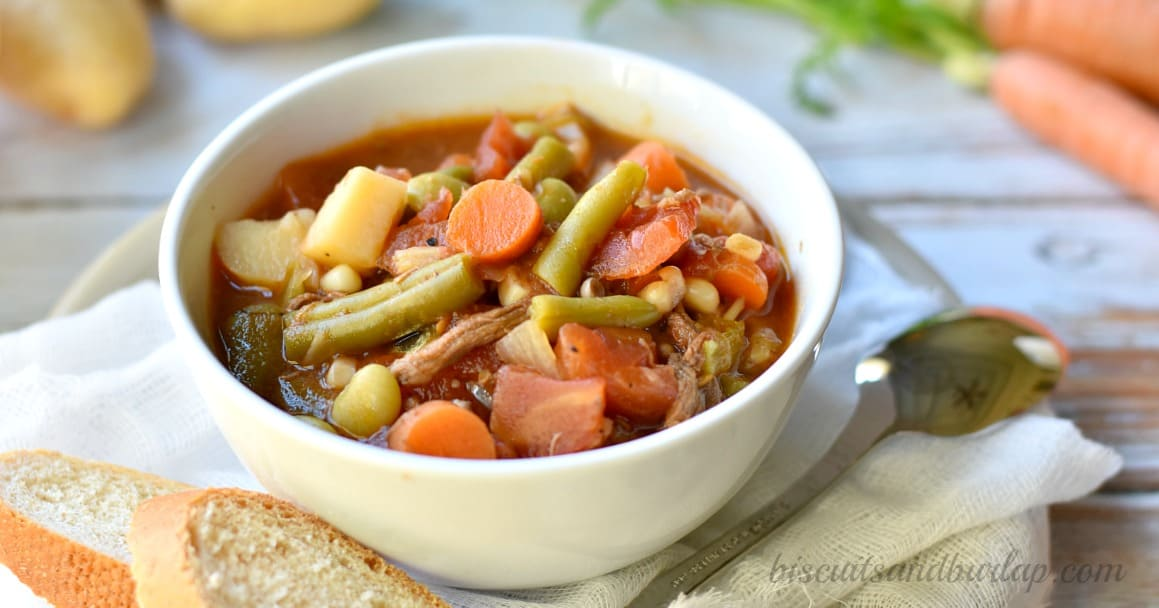 how to cook southern vegetable soup