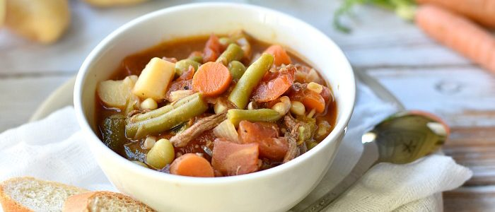 Southern Style Vegetable Beef Soup