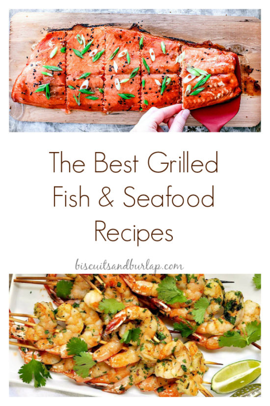 Grilled Fish and Seafood Recipes