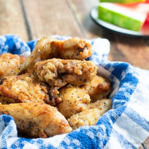 Southern Fried Chicken like your grandma made. From BiscuitsandBurlap.com