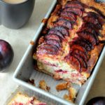 Spiced Plum Coffee Cake from Biscuits & Burlap