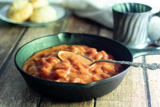 Tomato gravy is a southern classic & one of our most popular recipes.