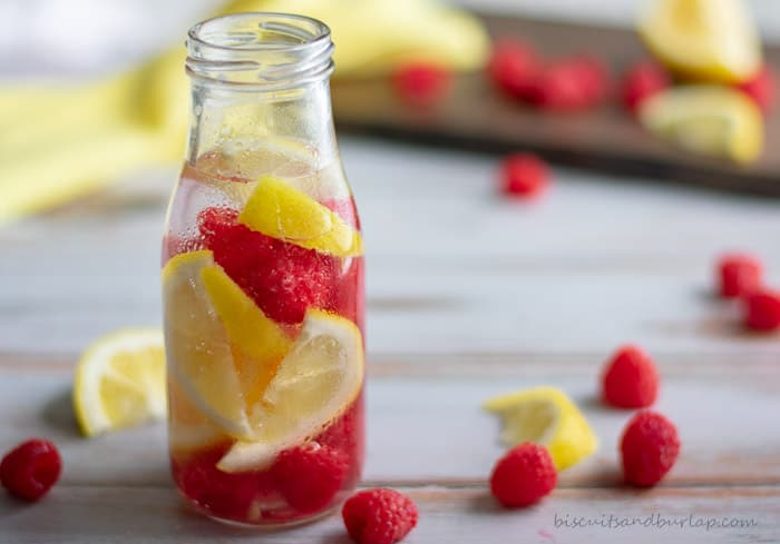 Don't wait until you're at the spa or hotel to have infused water