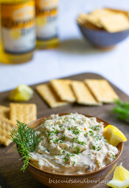 Smoked Fish Dip can be made any type of smoked fish.