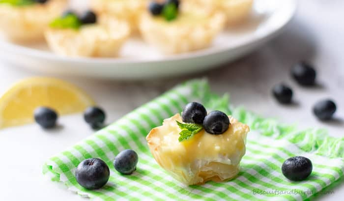 mini lemon tarts are perfect small bite sweets for any occasion