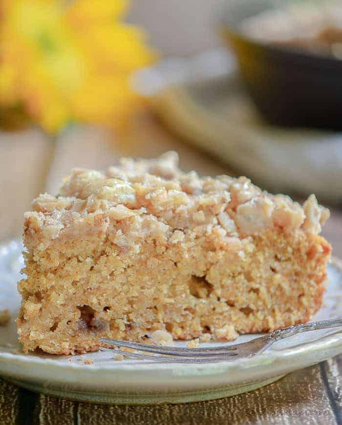 Sweet Potato Cake with Pecan Praline Icing.