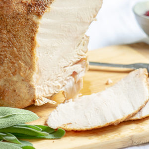 turkey breast recipe cooks in the slow cooker