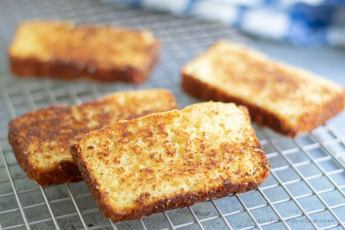 toasted cornbred takes an old favorite to new levels of yum!