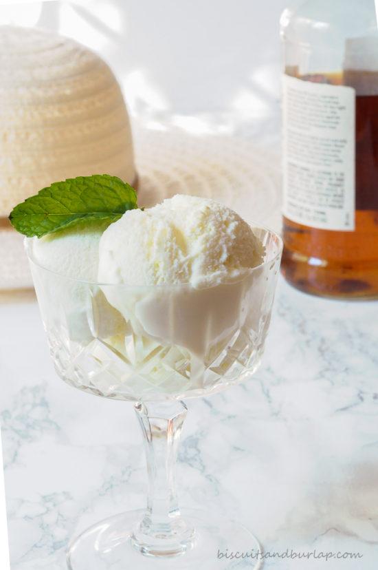 Mint Julep Ice cream
