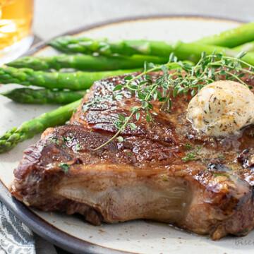 steak butter on steak