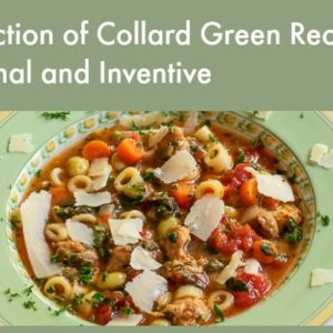 collard green soup with graphics