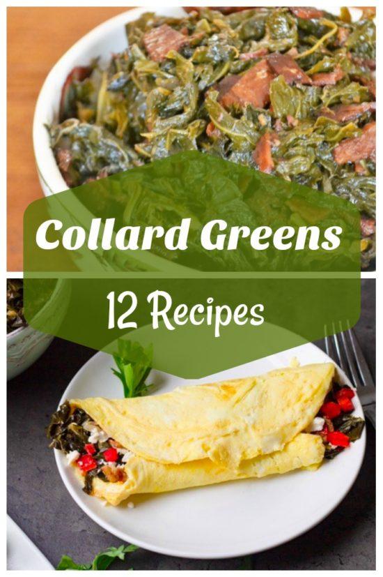 collard greens collage