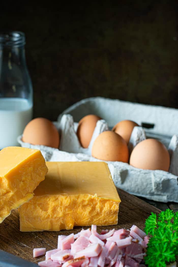 ingredients for keto breakfast casserole