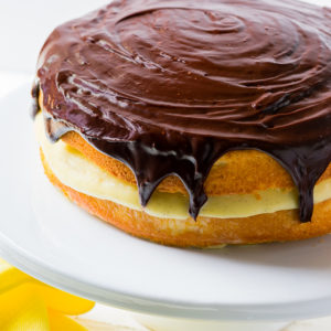 whole boston cream pie