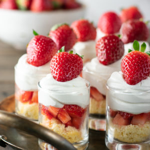 Mini Strawberry Shortcake