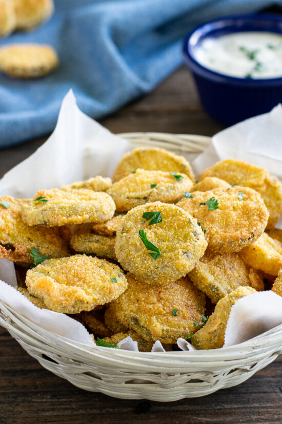 Crispy Fried Pickles