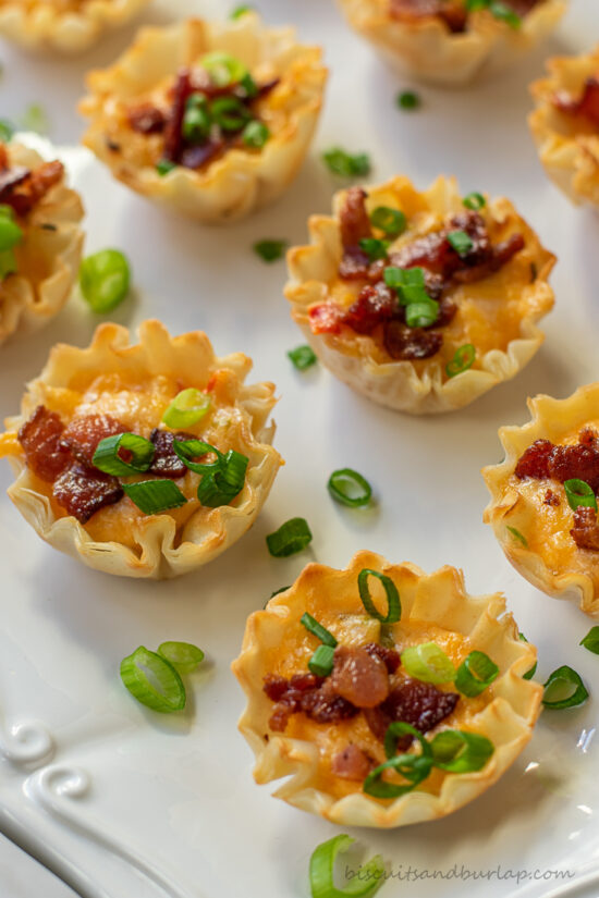 close up of pimento cheese appetizers