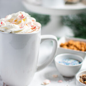 homemade hot chocolate bar