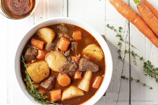 Irish Stew with Beef and Guinness