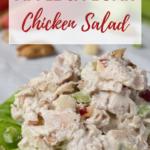 pin for Apple & Pecan Chicken Salad