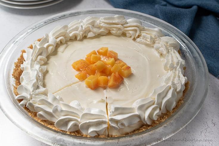 Peach Mango Pie
